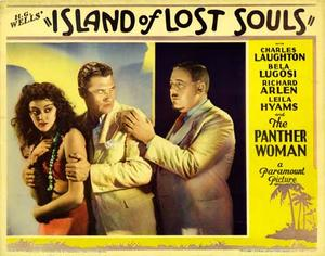 """Poster art for """"Island of Lost Souls.''"""