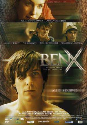 """Poster art for """"Ben X."""""""
