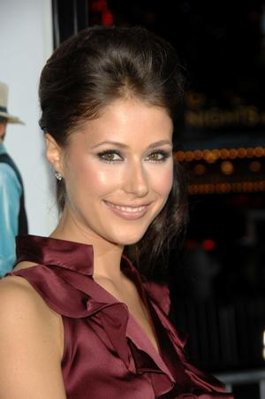 "Amanda Crew at the red carpet of the California premiere of ""Sex Drive."""