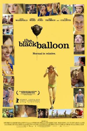 "Poster Art for ""The Black Balloon."""
