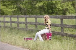 "Miley Cyrus in ""Hannah Montana: The Movie."""