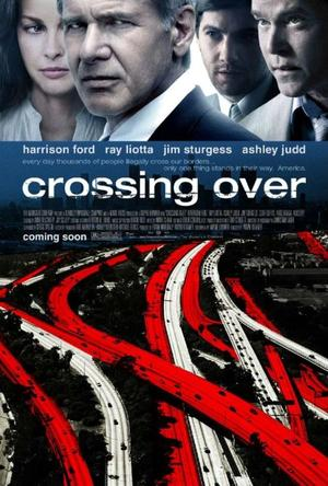 """Poster Art for """"Crossing Over."""""""