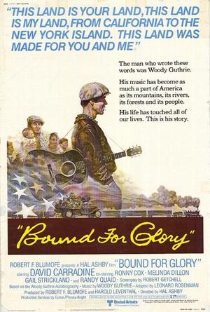"""Poster art for """"Bound for Glory."""""""