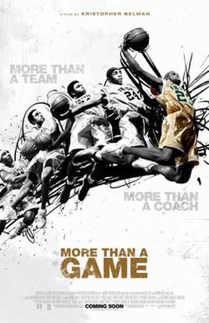 """Poster art for """"More Than A Game."""""""