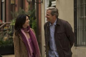 "Jeff Daniels and Lauren Graham in ""The Answer Man."""