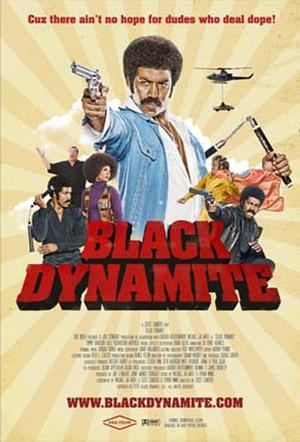 "Poster art for ""Black Dynamite."""