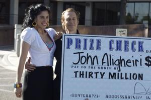 "Sarah Silverman as Jill and Steve Buscemi as John in ""Saint John of Las Vegas."""
