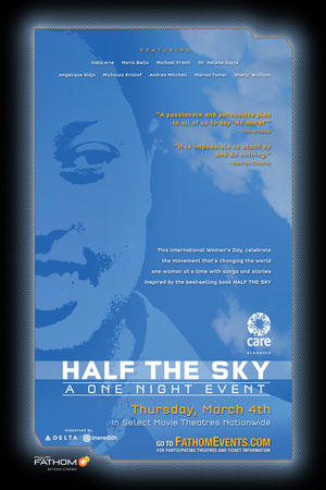 "Poster art for ""Half the Sky"""