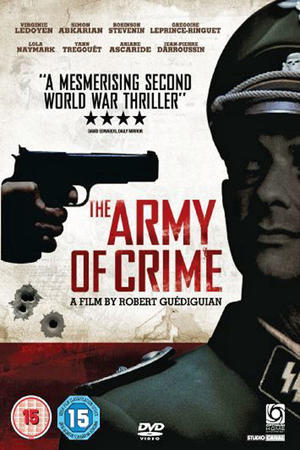 "Poster art for ""Army of Crime"""