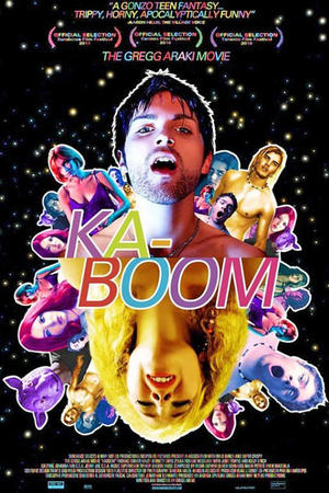 """Poster art for """"Kaboom."""""""