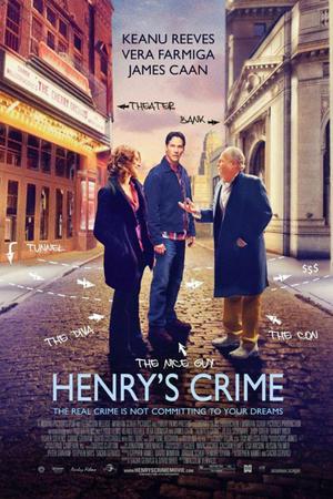 """Poster art for """"Henry's Crime."""""""