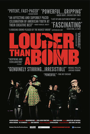 "Poster art for ""Louder Than a Bomb."""