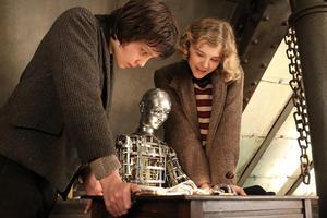 "Chloe Moretz and Asa Butterfield in ""Hugo."""