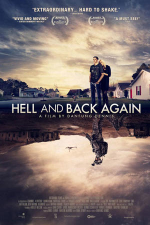 """Poster art for """"Hell and Back Again."""""""