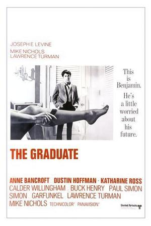 """Poster art for """"The Graduate."""""""