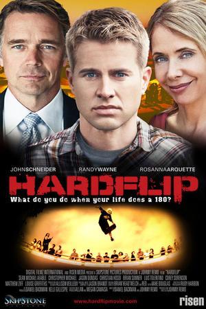 """Poster art for """"Hardflip."""""""