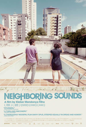 """Poster art for """"Neighbouring Sounds."""""""