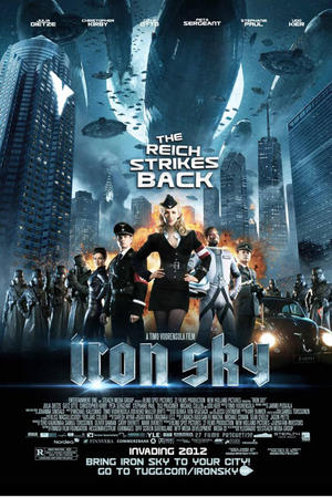 "Poster art for ""Iron Sky."""