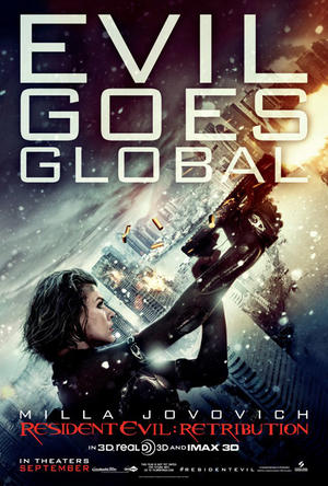 "Poster art for ""Resident Evil: Retribution - An IMAX 3D Experience."""