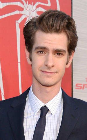 "Andrew Garfield at the California premiere of ""The Amazing Spider-Man."""
