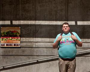 "Jacob Wysocki in ""Fat Kid Rules the World."""