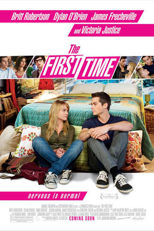 "Poster art for ""The First Time."""