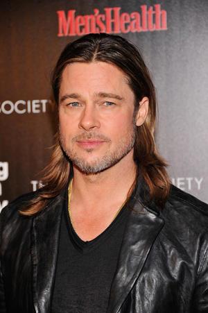 "Brad Pitt at the New York premiere of ""Killing Them Softly."""