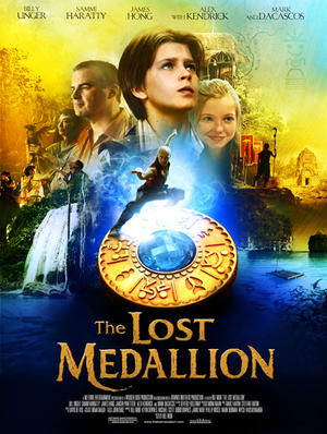 "Poster art for ""The Last Medallion."""