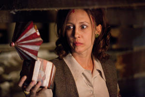 "Vera Farmiga as Lorraine Warren in ""The Conjuring."""