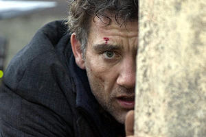 "Clive Owen as Theo in ""Children of Men."""