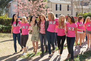 "Lauren McKnight, Miley Cyrus and Kelly Osbourne in ""So Undercover."""