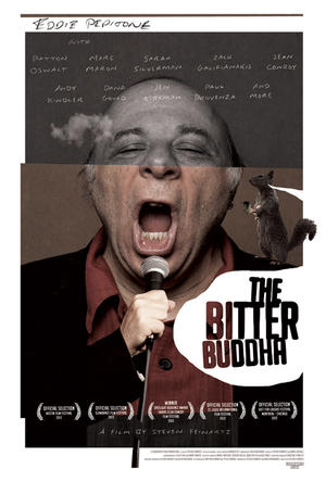 "Poster art for ""The Bitter Buddha."""