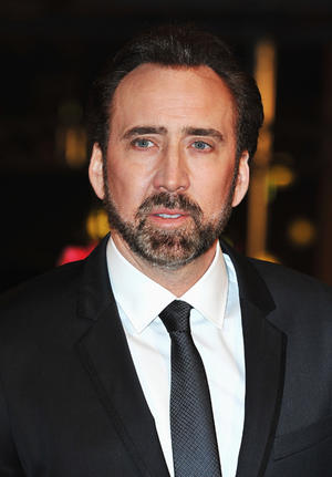 "Nicolas Cage at the Germany premiere of ""The Croods."""