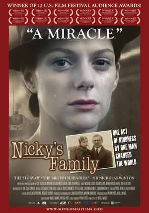 "Poster art for ""Nicky's Family."""
