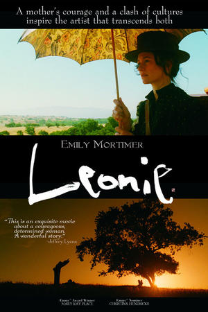 "Poster art for ""Leonie."""