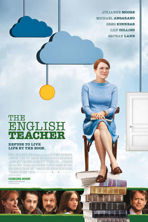 "Poster art for ""The English Teacher."""