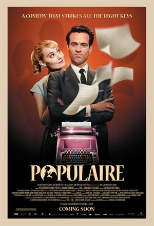 """Poster art for """"Populaire."""""""
