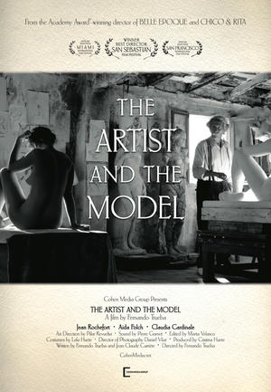 """Poster art for """"The Artist and the Model."""""""
