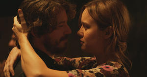 "John Gallagher Jr. as Mason and Brie Larson as Grace in ""Short Term 12."""