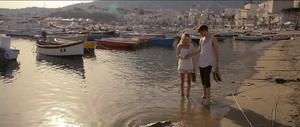 "Kate Bosworth and Jamie Blackley in ""And While We Were Here."""