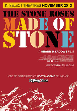 "Poster art for ""The Stone Roses: Made Of Stone."""