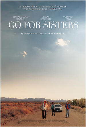 "Poster art for ""Go for Sisters."""
