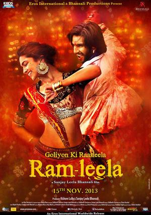 """Poster art for """"Ram Leela."""""""
