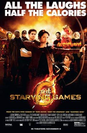 "Poster art for ""The Starving Games."""