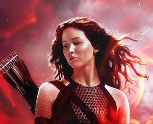 "A scene from ""The Hunger Games: Catching Fire."""