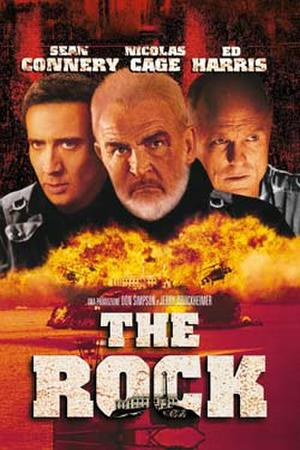 """Poster art for """"The Rock."""""""