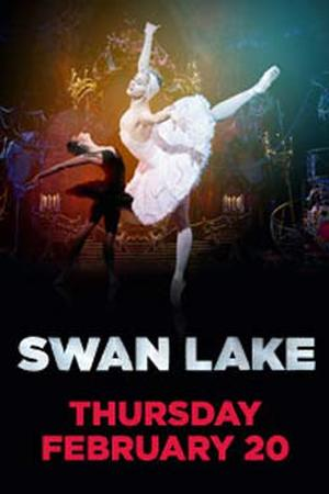 "Poster art for ""ROYAL BALLET: Swan Lake."""