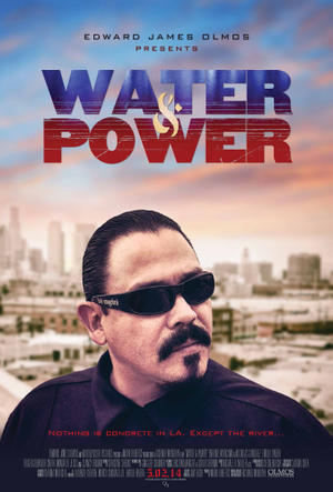"""Poster art for """"Water and Power."""""""