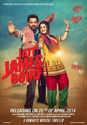 "Poster art for ""Jatt James Bond."""
