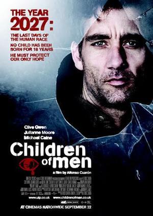 """Poster art for """"Children of Men."""""""